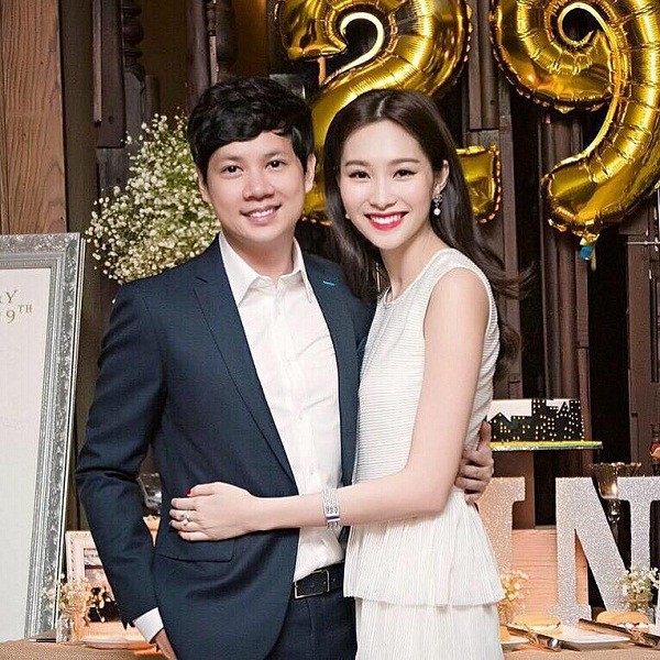 Chuyện tình yêu từ ngày mới quen đến trước lễ cưới của Hoa hậu Thu Thảo - ảnh 7