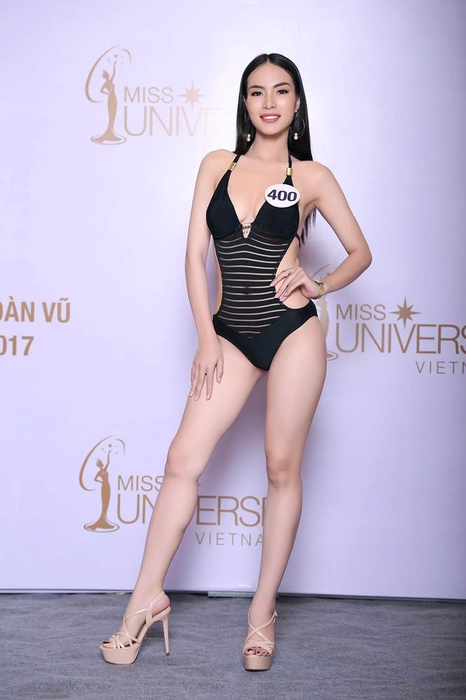 Hoàng Thuỳ, Mâu Thuỷ mặc bikini 'lấn át' dàn thí sinh tại sơ khảo HHHV - ảnh 8