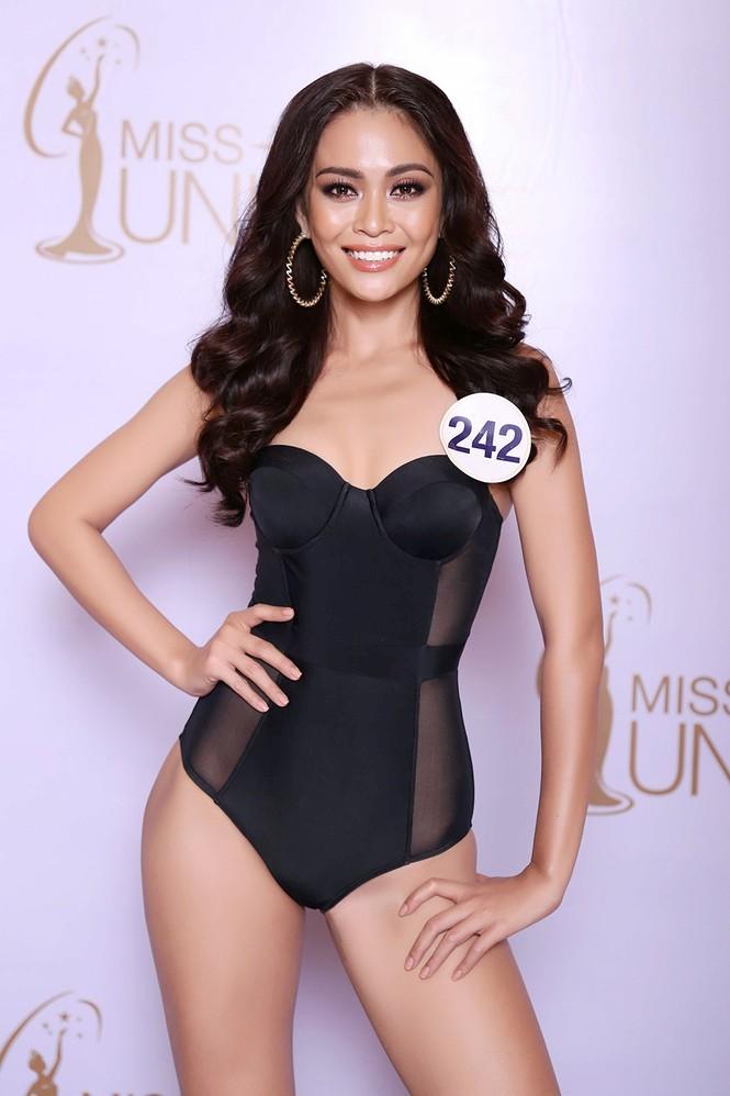 Hoàng Thuỳ, Mâu Thuỷ mặc bikini 'lấn át' dàn thí sinh tại sơ khảo HHHV - ảnh 3