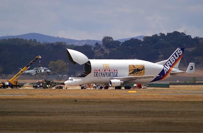 Bên trong siêu máy bay vận tải Airbus cực khủng - ảnh 10