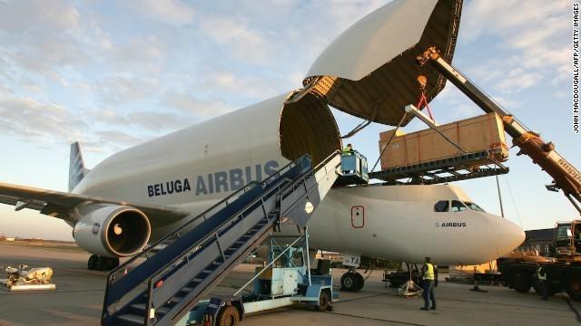 Bên trong siêu máy bay vận tải Airbus cực khủng - ảnh 8