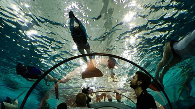 Bể bơi sâu nhất hành tinh ở Italy - ảnh 7