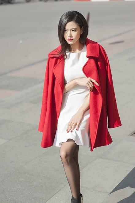Trương Quỳnh Anh thanh lịch xuống phố - ảnh 3