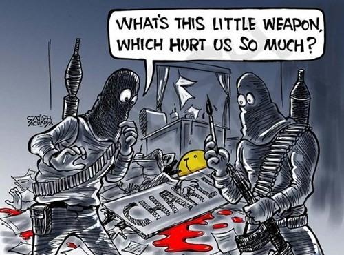 Báo giới 'tuyên chiến' với khủng bố - ảnh 9