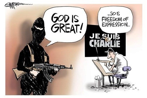Báo giới 'tuyên chiến' với khủng bố - ảnh 1