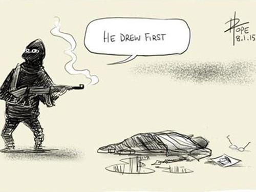 Báo giới 'tuyên chiến' với khủng bố - ảnh 3