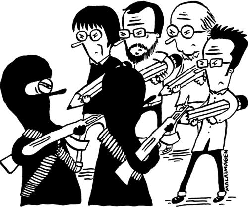 Báo giới 'tuyên chiến' với khủng bố - ảnh 4