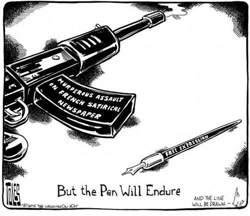 Báo giới 'tuyên chiến' với khủng bố - ảnh 7