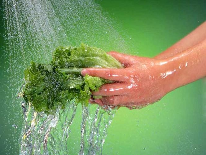 Nguyên tắc rửa rau loại bỏ chất gây ung thư - ảnh 7