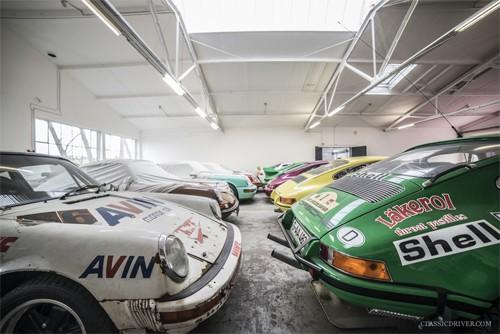 Người đàn ông phục chế hàng trăm xe Porsche - ảnh 3