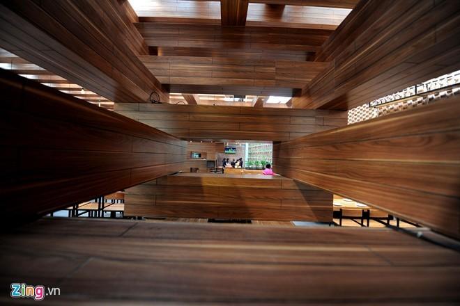 Nhà hàng có thiết kế giống cây cổ thụ ở Hà Nội - ảnh 4