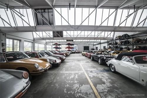 Người đàn ông phục chế hàng trăm xe Porsche - ảnh 4