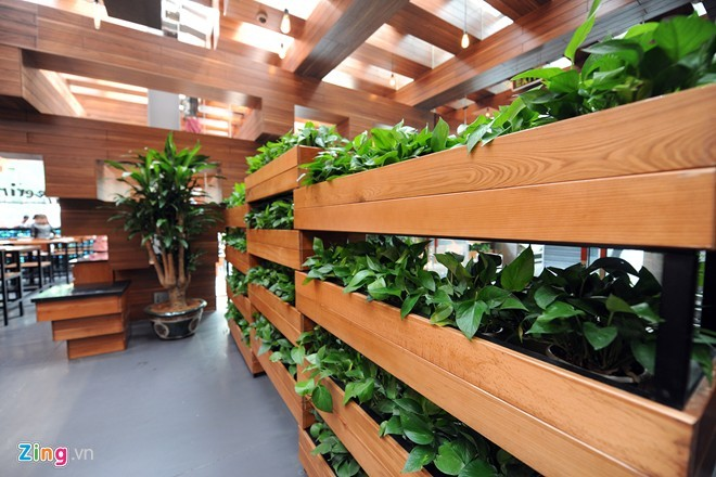 Nhà hàng có thiết kế giống cây cổ thụ ở Hà Nội - ảnh 7