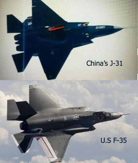 Trung Quốc 'chôm' thiết kế chiến đấu cơ F-35 của Mỹ? - ảnh 1