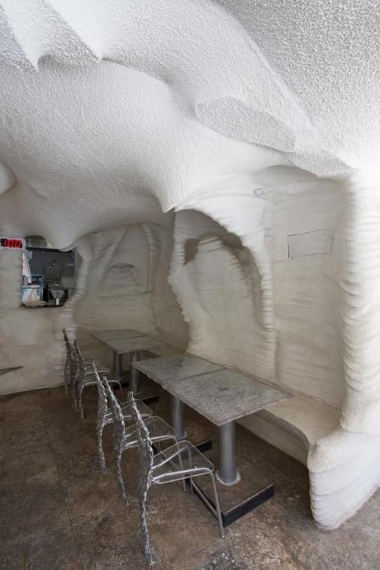 Lạ kỳ nhà hàng xây từ muối ở Iran - ảnh 2