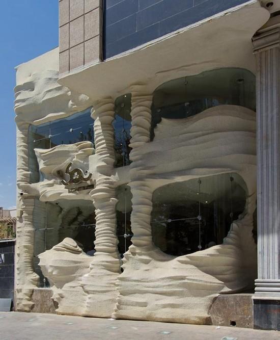 Lạ kỳ nhà hàng xây từ muối ở Iran - ảnh 3