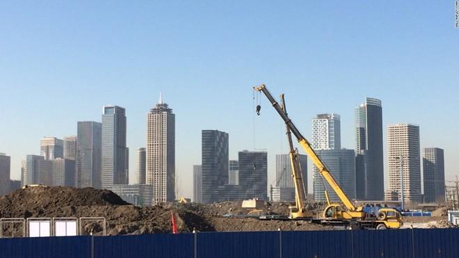 'Thành phố ma' hiện đại giữa lòng Trung Quốc - ảnh 1
