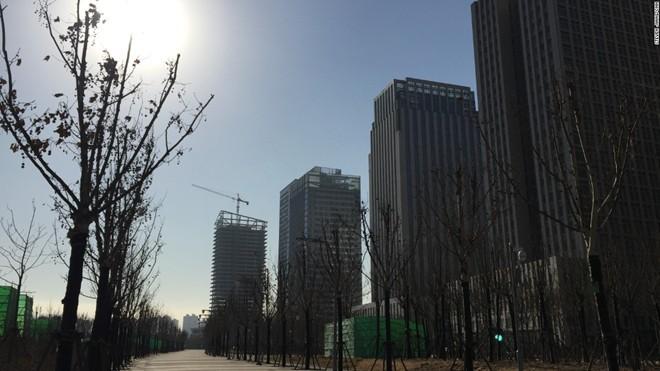 'Thành phố ma' hiện đại giữa lòng Trung Quốc - ảnh 3