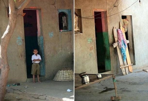 Kỳ lạ ngôi làng có hàng trăm ngôi nhà không cửa - ảnh 1