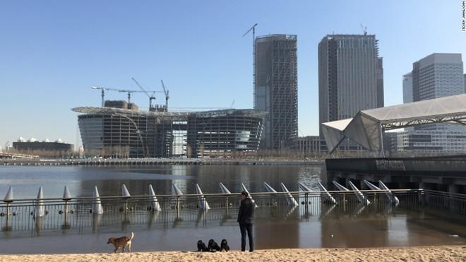 'Thành phố ma' hiện đại giữa lòng Trung Quốc - ảnh 6