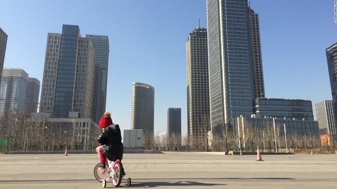 'Thành phố ma' hiện đại giữa lòng Trung Quốc - ảnh 7