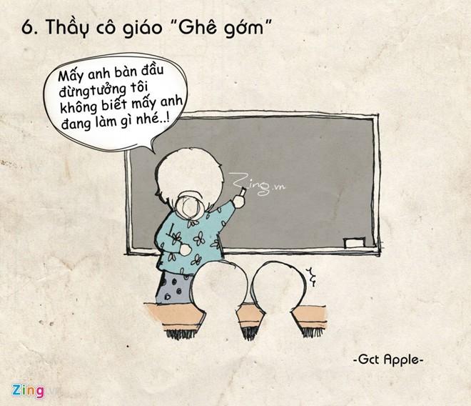 Tranh hài: Ám ảnh kinh điển của học sinh khi đến trường - ảnh 6