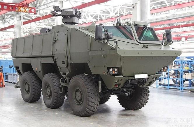 Bằng chứng xe thiết giáp Typhoon-K Nga chống đạn siêu việt - ảnh 5