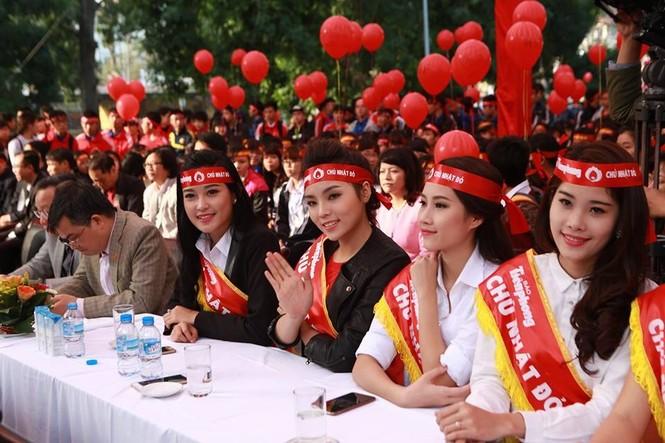 [ẢNH] Các Hoa hậu, Á hậu tham gia ngày hội hiến máu - ảnh 5
