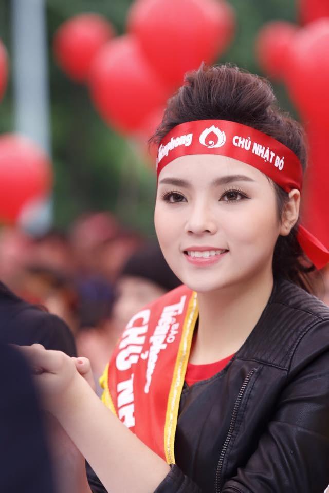 Hoa hậu Kỳ Duyên hiến máu tại Chủ Nhật Đỏ - ảnh 4