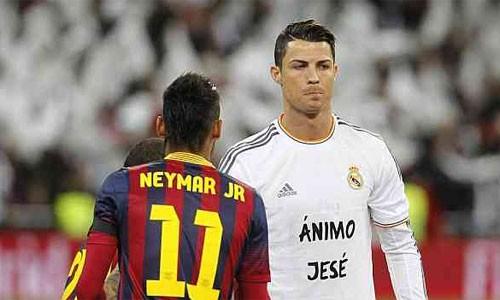 Neymar muốn Ronaldo bị phạt nặng - ảnh 1
