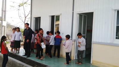 Khánh thành nhà nội trú cho trường THCS Mường Lý - ảnh 2