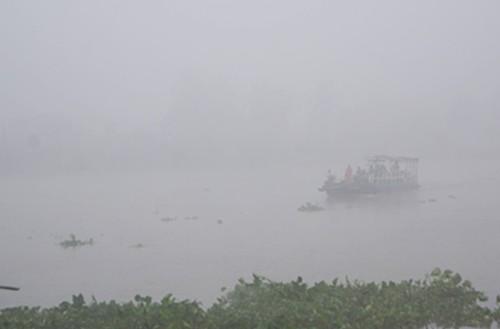[ẢNH] Bình Dương chìm trong sương mù, 'mờ ảo' như phố núi - ảnh 5