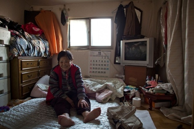 [ẢNH] Cuộc sống tạm bợ tại khu ổ chuột lớn nhất Seoul - ảnh 5