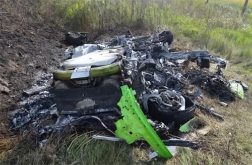 Rao bán 'xác' Lamborghini Huracan với giá không tưởng - ảnh 1