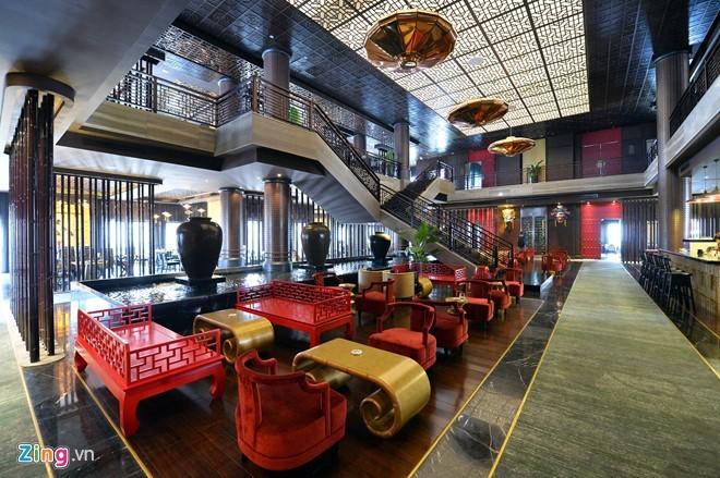 Khu ăn chơi, tiệc tùng hoành tráng mới ở Hà Nội - ảnh 5