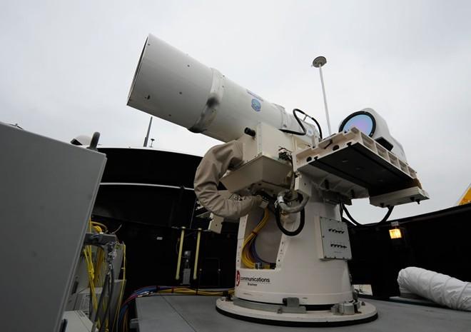 Những siêu vũ khí sở hữu công nghệ tương lai của quân đội Mỹ - ảnh 3