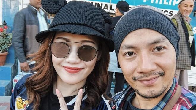 Rapper Tiến Đạt du lịch nước ngoài cùng bạn gái mới - ảnh 2