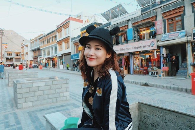 Rapper Tiến Đạt du lịch nước ngoài cùng bạn gái mới - ảnh 8