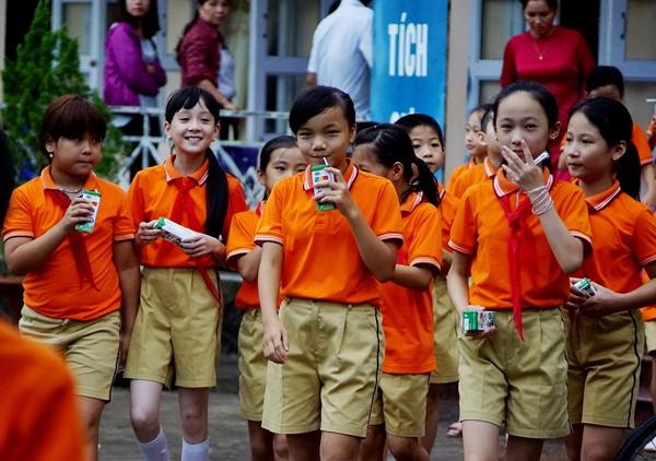 Vinamilk tiên phong trong sữa học đường, vì một Việt Nam vươn cao - ảnh 2