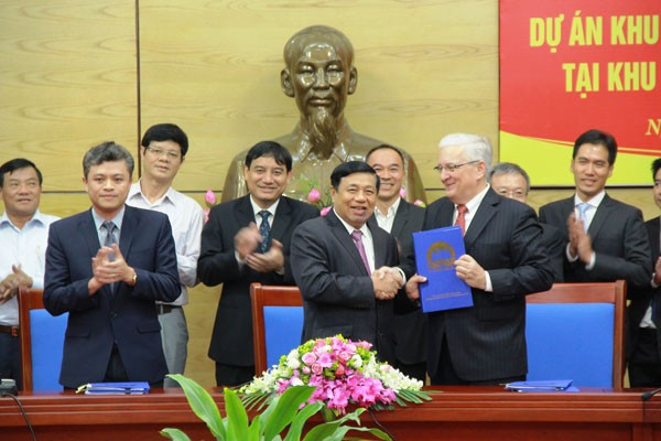 Xây dựng khu công nghiệp – đô thị 1 tỷ USD tại Nghệ An   - ảnh 1