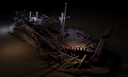 40 xác tàu đắm nguyên vẹn dưới đáy Hắc Hải - ảnh 1