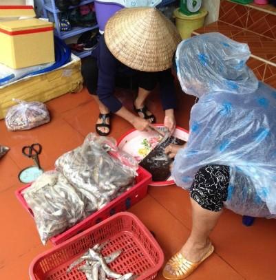 Nở rộ dịch vụ hải sản 'xách tay' - ảnh 1