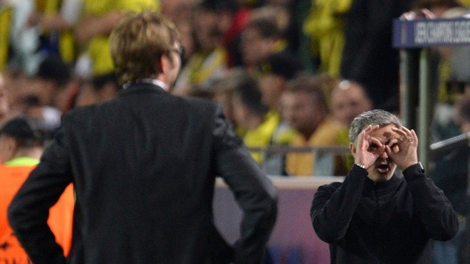 HLV Mourinho thất thế khi đối đầu Klopp - ảnh 3