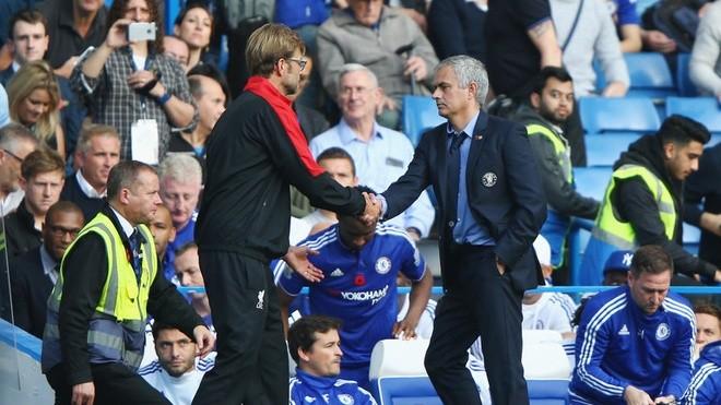 HLV Mourinho thất thế khi đối đầu Klopp - ảnh 5