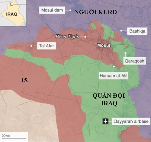 Sai lầm khiến sư đoàn Iraq rơi vào bẫy tử thần của IS - ảnh 1