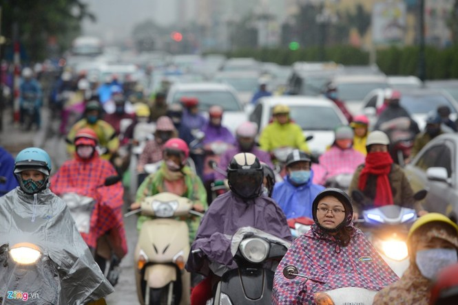 Hà Nội: Kẹt cứng giao thông trên tuyến buýt nhanh BRT - ảnh 4
