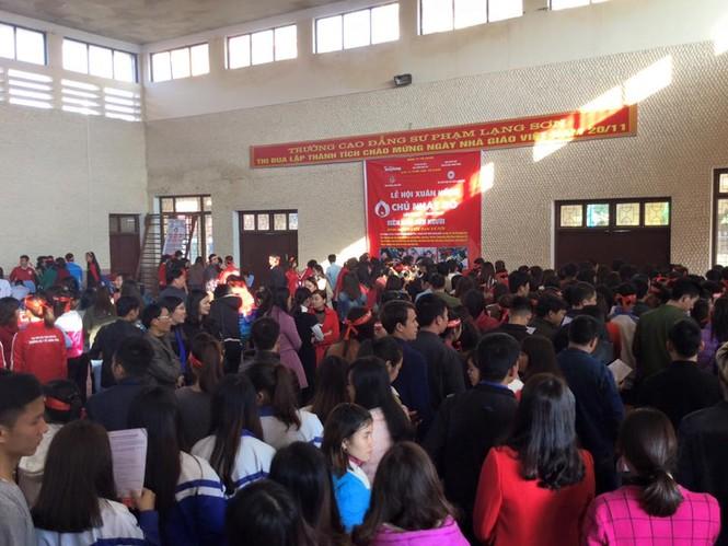 """Lạng Sơn: Náo nức """"Ngày hội xuân hồng- Chủ nhật Đỏ 2017"""" - ảnh 4"""