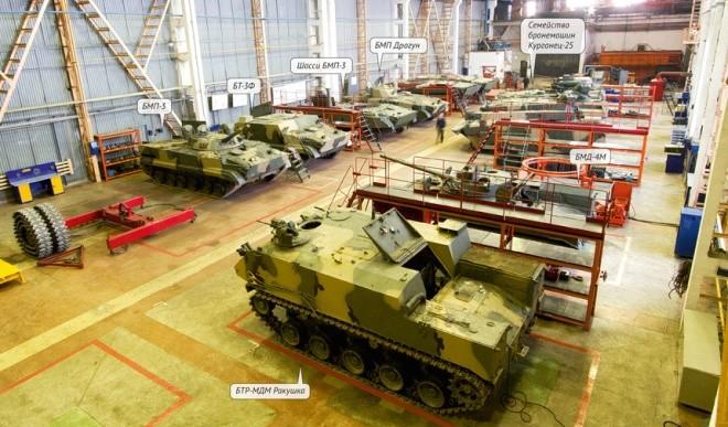 Lò sản sinh những cỗ xe thiết giáp danh tiếng nhất của Nga - ảnh 2