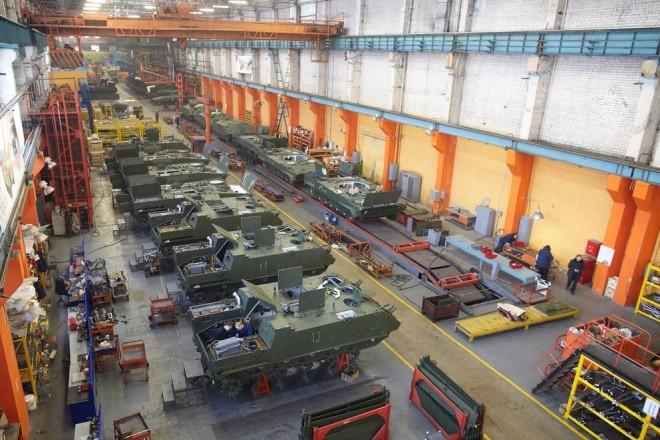 Lò sản sinh những cỗ xe thiết giáp danh tiếng nhất của Nga - ảnh 5