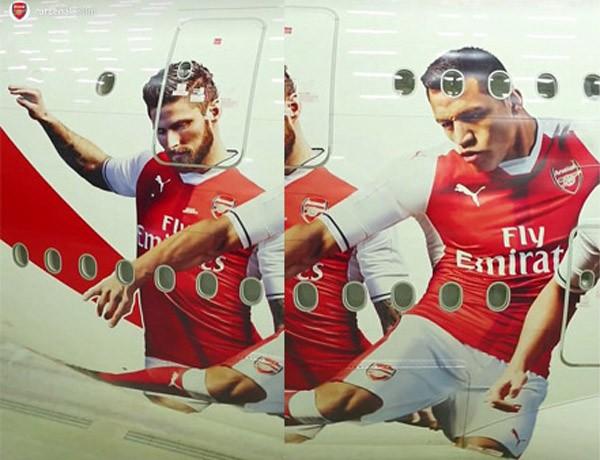 Cận cảnh 'chim sắt' thửa riêng cực xịn của Arsenal - ảnh 2